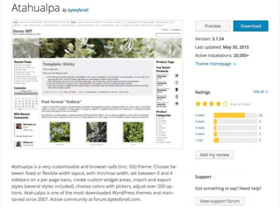 atahualpa wp theme