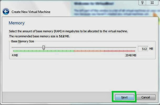 Virtual Box Step 3