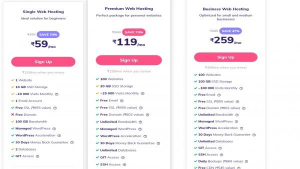 Web Hosting - Hostinger Web Hosting Review in Hindi