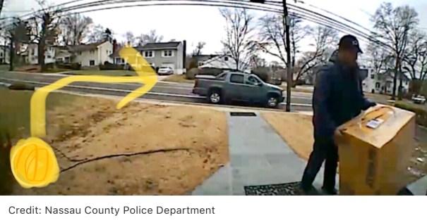 Man steals dewalt saw in great neck Long Island