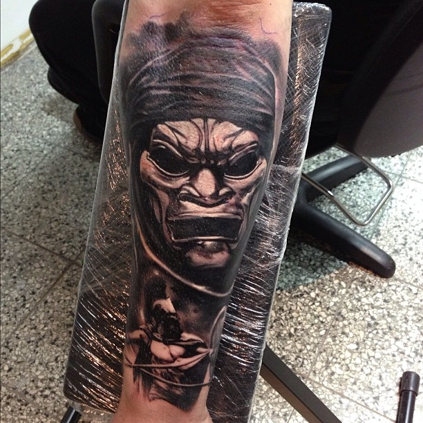 Full Sleeve 300 Movie Tattoo