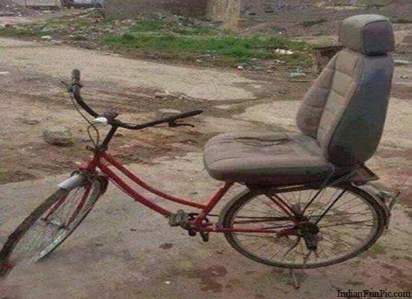 31 Very Funny Bicycle Images And Pictures