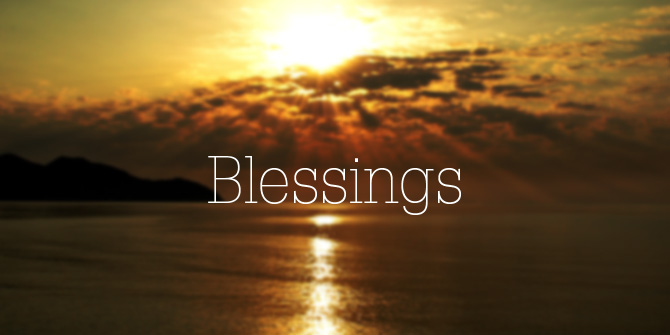 Winter Blessings Facebook Covers