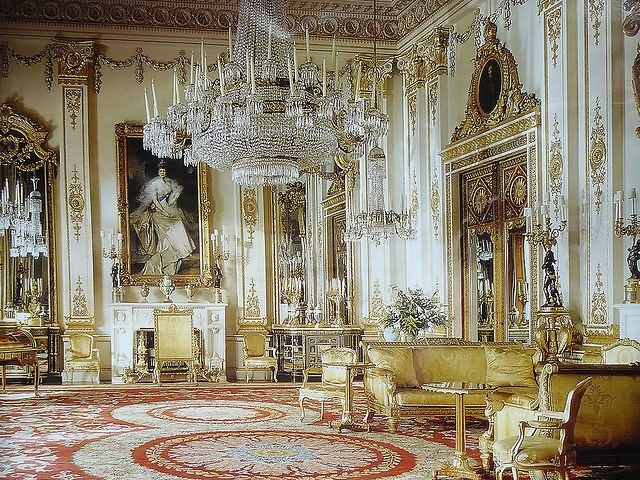 Beautiful Interior View Of The Buckingham Palace - THE MOST BEAUTIFUL INTERIOR PICTURES OF BUCKINGHAM PALACE LONDON