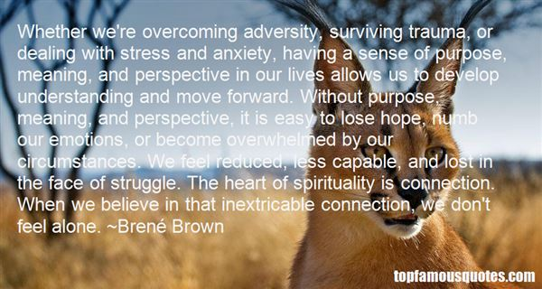 Dealing Adversity Quotes