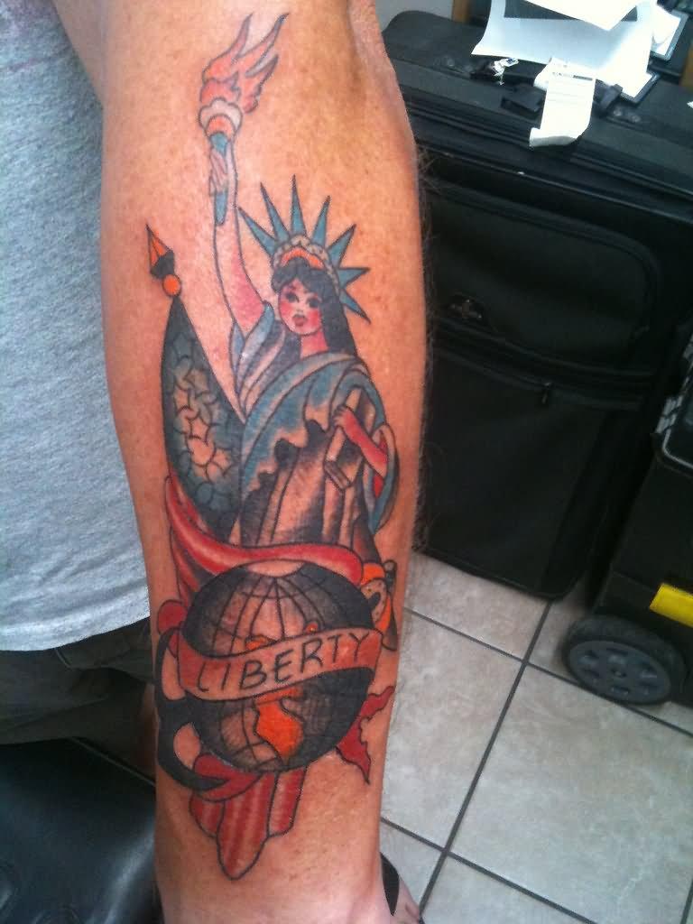 fcb47b88b560c Cordial Liberty Tattoos Liberty Tattoo Statue Guns Zach Nelligan ...