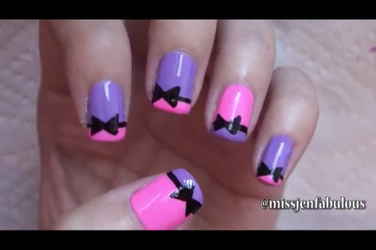 Easy Purple Nail Art Designs With Images Page Of View