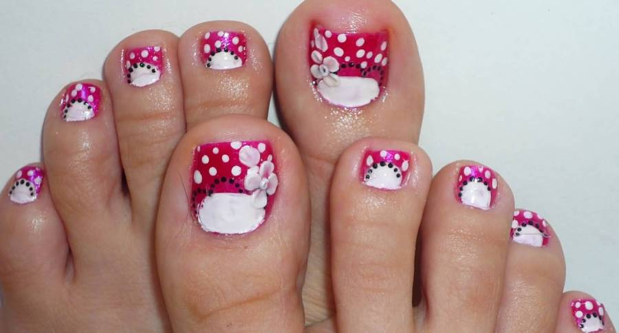 Nail Art Flowers For Toes Path Decorations Pictures Full Path