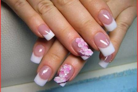 Simple Flower Nail Art Tutorial Path Decorations Pictures Full