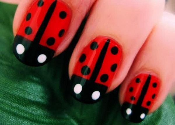 Red Nail Art Designs 36