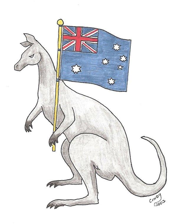 56 Latest Kangaroo Tattoos