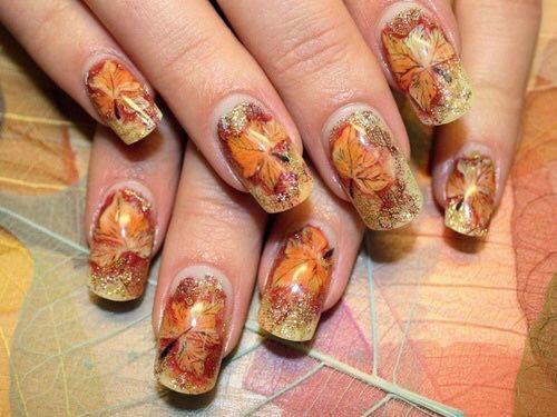 25 Best Autumn Nails Art Designs Ideas 2016