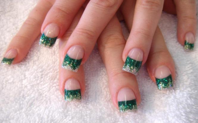 Nail Design For Winter Choice Image Art Designs Latest Glitter Sparkling