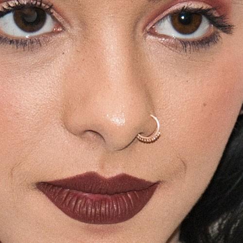 Melanie Martinez Nostril Piercing