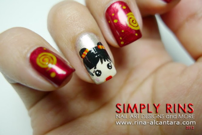 Chinese New Year 2017 Nail Art 9