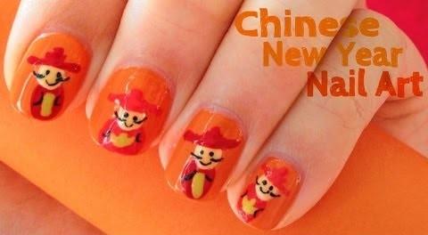 Chinese New Year Nail Art 60 Latest Designs