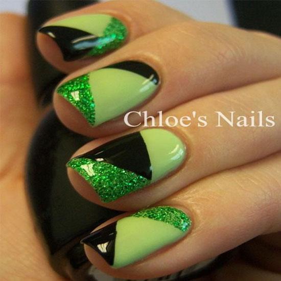 Gel And Half Half Nails