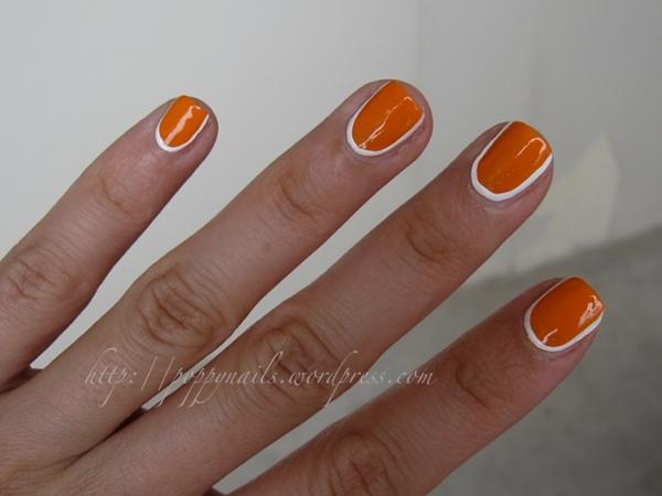Fabartdiy Chic Mod Mani Striped Nail Art 5
