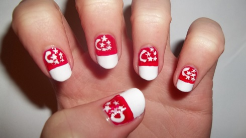 My Favorite For This Month Care Bear Nail Art