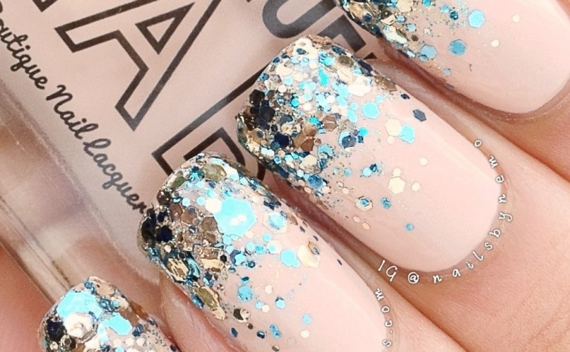 Beautiful Glitter Grant Nail Art