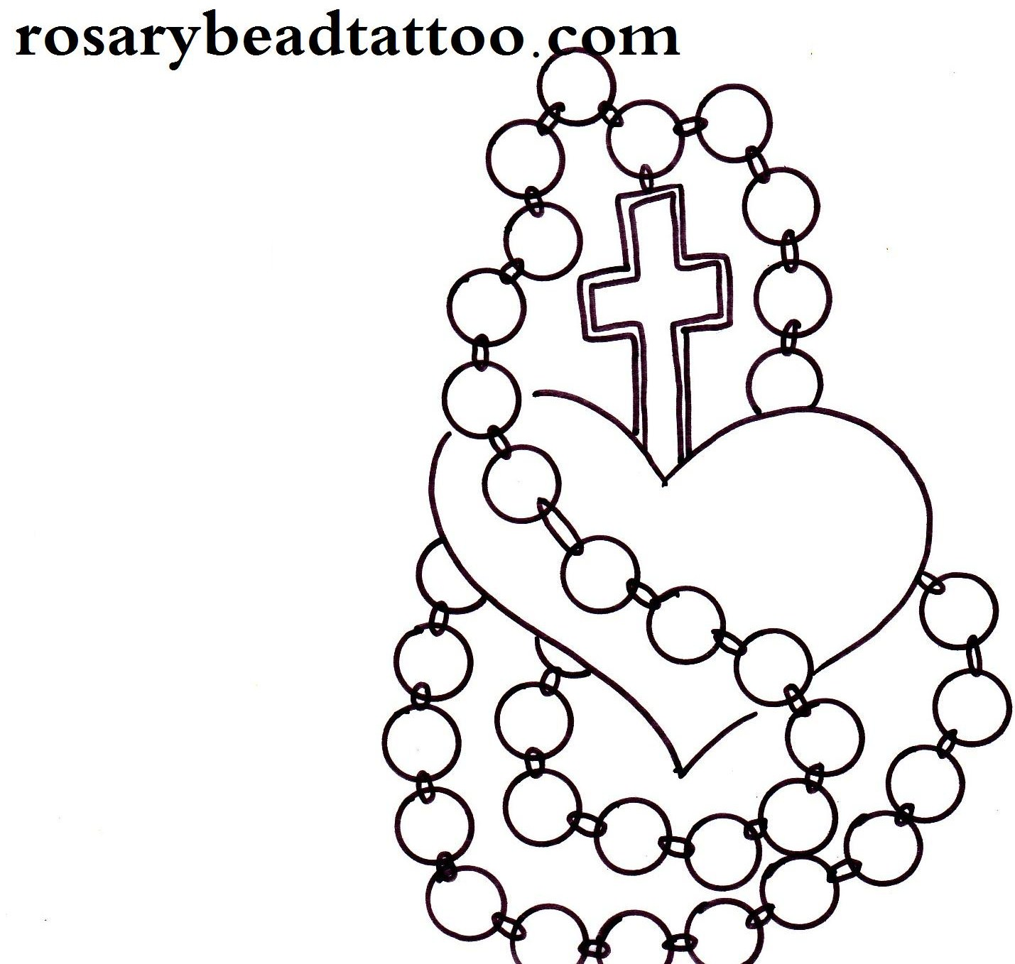 25 Rosary Tattoo Images Pictures And Designs