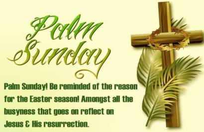 Palm Sunday Pictures And Quotes
