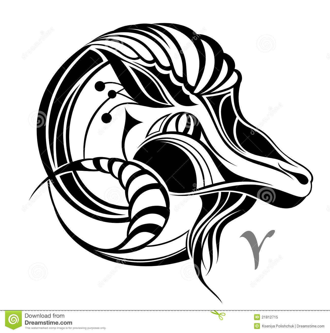Pisces Tribal Symbols And Signs