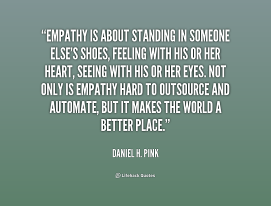 Image result for empathy for others quote