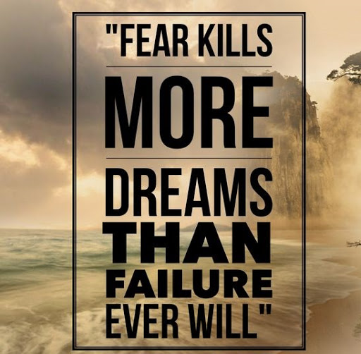quotes about fear of failure