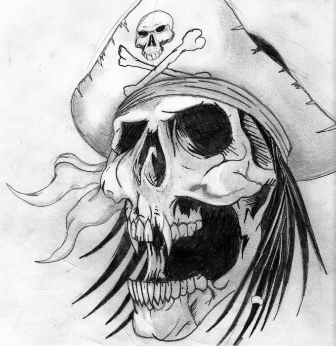 54+ Pirate Tattoo Designs And Ideas