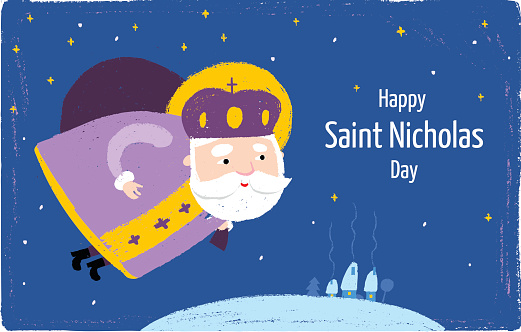 15 Most Adorable Saint Nicholas Day Greeting Pictures