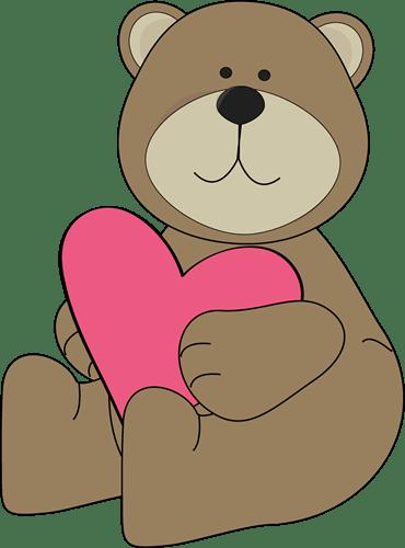 Day Teddy Valentines Cartoon Bear
