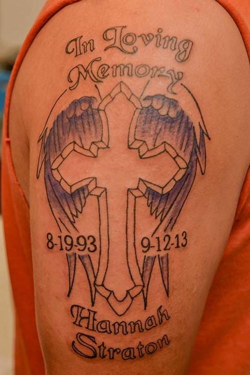 Loving Memory My Brother Tattoos