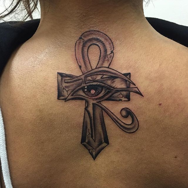 Ankh Eye Horus Tattoo