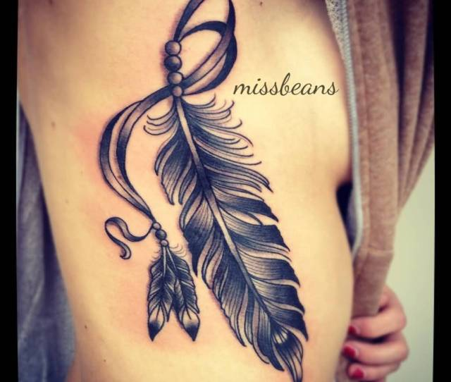 Beautiful Feather Tattoos With Meanings