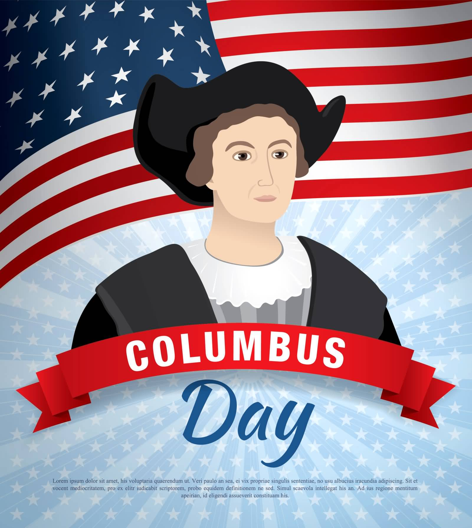 50 Best Columbus Day Greeting Pictures And Images