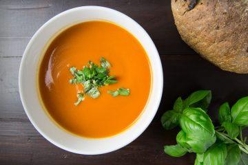 Bilde av tomatsuppe