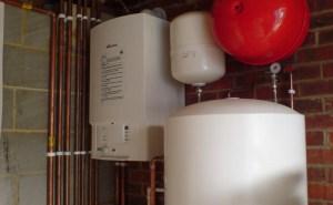 boiler and cylinder