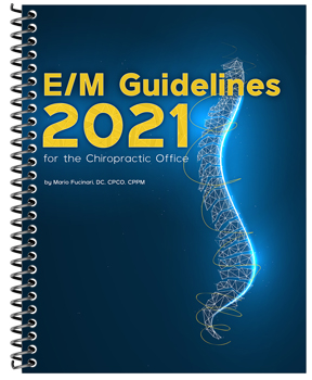 E/M Guidelines for the Chiropractic Office book cover