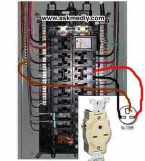 How to install a 220 volt outlet  AskmeDIY