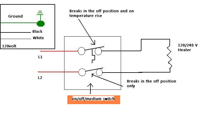 Electric Baseboard Heater Thermostat Wiring Diagrams - Wiring Diagram