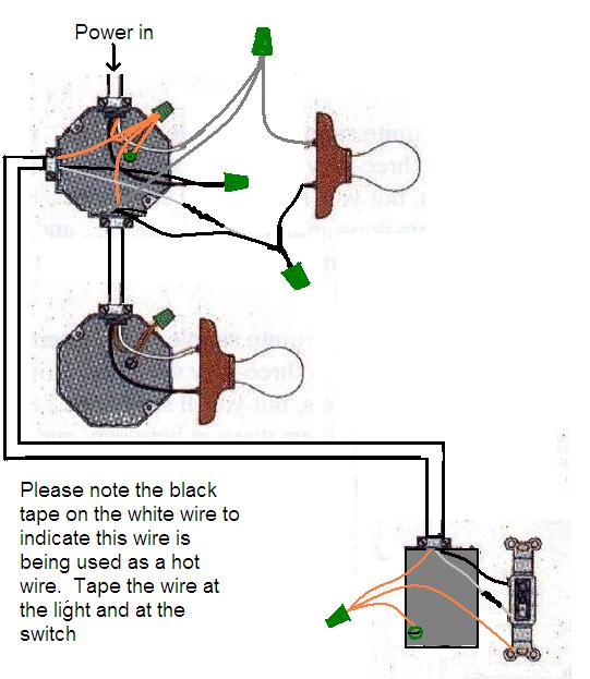 wiring two lights on one switch - dolgular com | 623