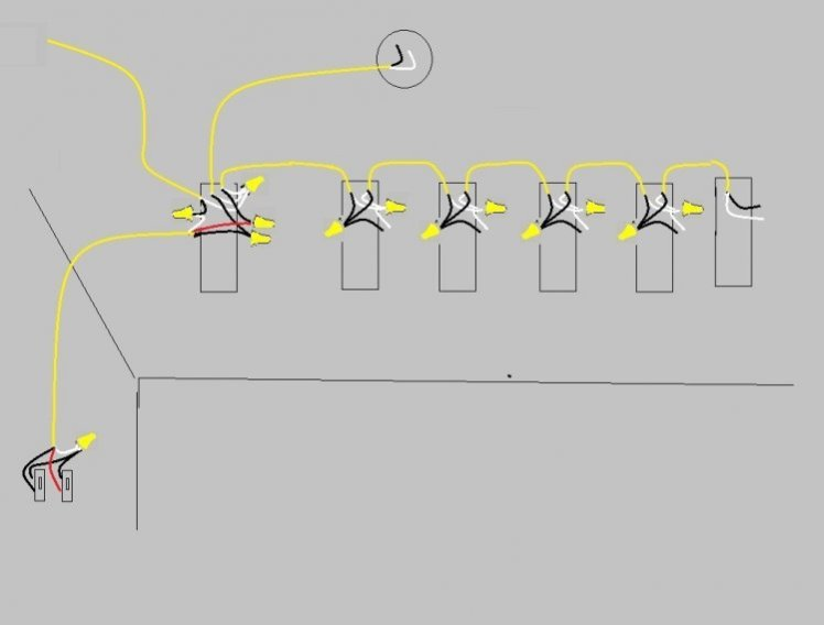 wiring diagram for multiple lights on one switch wiring wiring diagram for multiple lights on one switch uk wiring diagram on wiring diagram for multiple