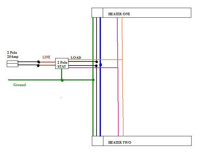 Fahrenheat Baseboard Heater Wiring Diagram