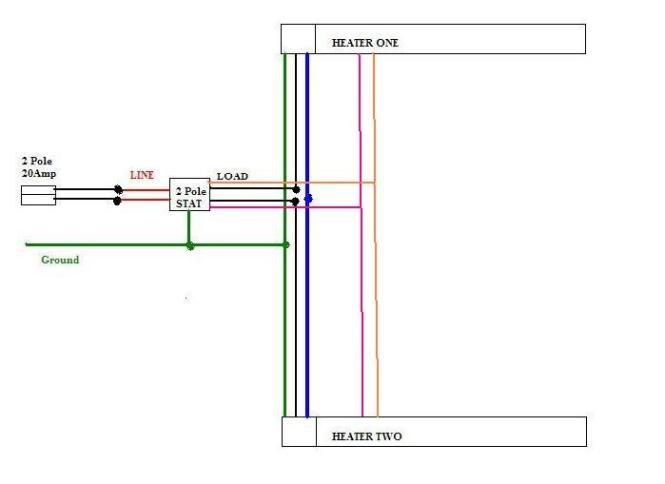 wiring diagram for electric baseboard heaters wiring diagram how to wire your baseboard heater