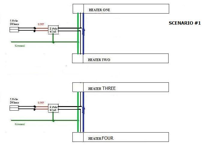 wiring electric baseboard heaters diagram electric free printable wiring diagrams