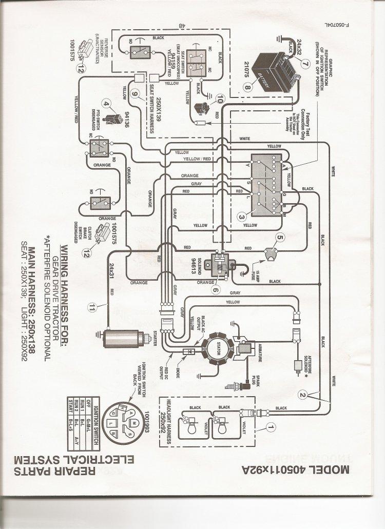 john deere l111 starting wiring diagram dolgular com John Deere 4430 Wiring-Diagram  John Deere RX75 Wiring Schematic John Deere 212 Wiring-Diagram John Deere L100 Wiring Schematic