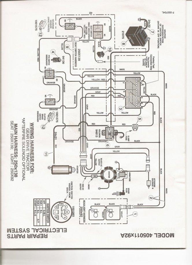 John Deere L130 Pto Wiring Diagram Wiring Diagram – John Deere Stx38 Pto Clutch Wiring Diagram
