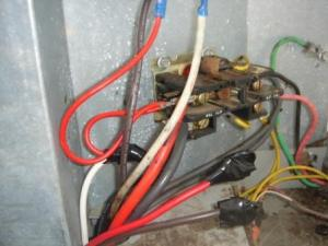 Wiring replacement Condenser Fan motor