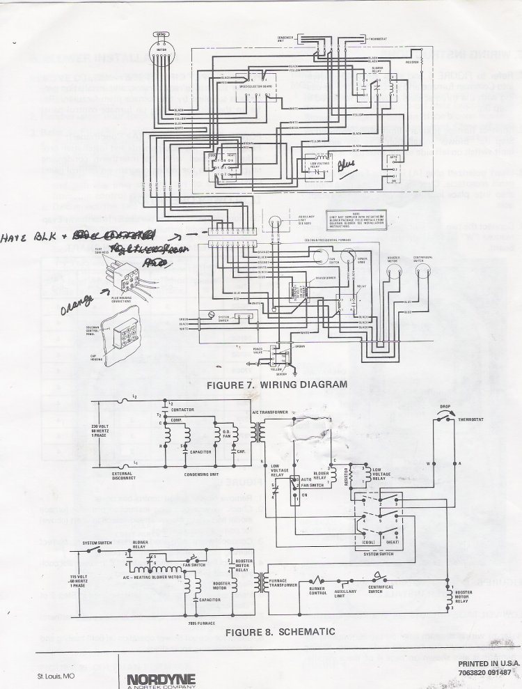 Rheem Furnace Wiring Diagram Stage Furnace Thermostat Wiring Diagram